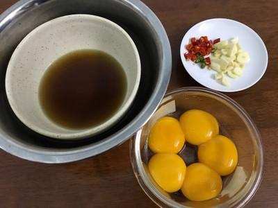วิธีทำ ไข่ดองน้ำปลา