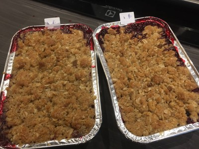 Mix Berry Crumble