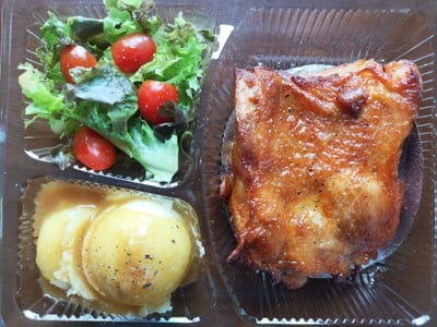 สเต็กไก่ฮอทแอนด์สไปซี่ (ผงหมักสำเร็จ yummy)