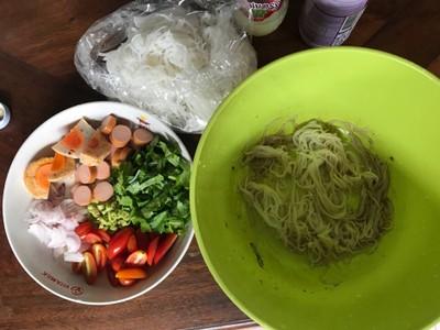 วิธีทำ ยำขนมจีน