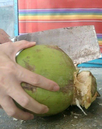 วิธีทำ น้ำมะพร้าวสด