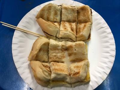 ขนมปังปิ้งเนยนมสด