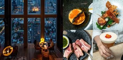 [รีวิว] Mahanakhon Bangkok SkyBar ชมวิวห้องอาหารและบาร์สูงที่สุดในไทย!