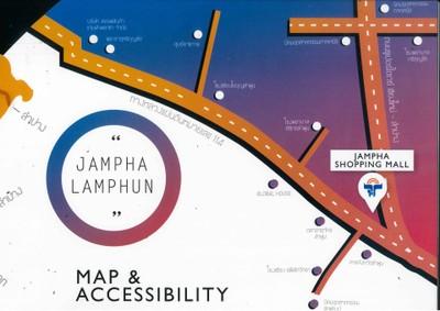 ศูนย์การค้าแจ่มฟ้าช้อปปิ้งมอลล์ ลำพูน (Jamphashoppingmall lamphun)