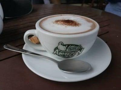 Café Amazon (คาเฟ่ อเมซอน) ptt มหาชัย