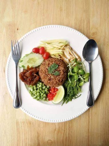 อาหารเจ เวจจี้เชฟ (Veggie Chef) วัชรพล รามอินทรา เกษตรนวมินทร์