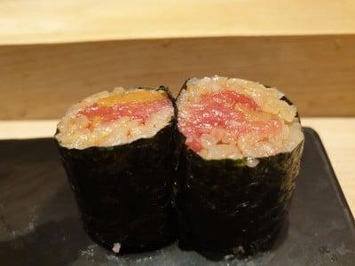 ข้าวปลาโอโทโร่ห่อสาหร่าย