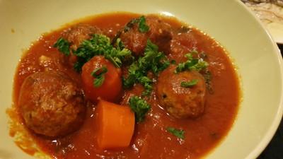 Polpette(Meatballs in tomato sauce)