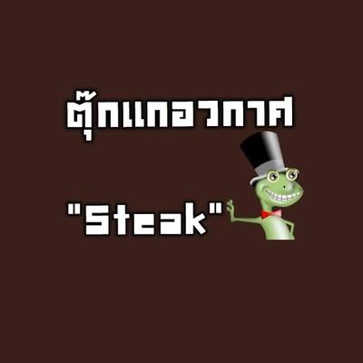 """ตุ๊กแกอวกาศ""""Steak"""""""