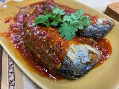 วิธีทำ ปลาทูทอดราดพริก