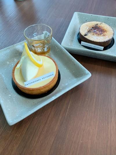 Honey Lemon Cheese Tart
