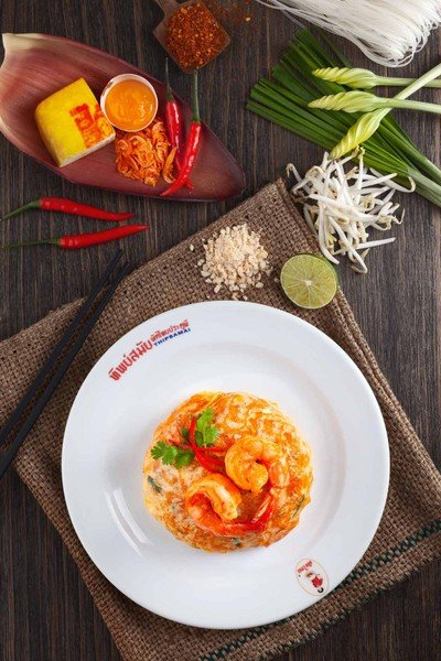 ทิพย์สมัยผัดไทยประตูผี Siam Paragon