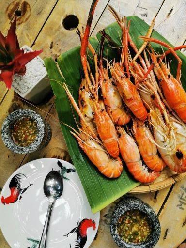 กิน กุ้ง ม๊ะ ถนนสุวินวงค์ หนองจอก มีนบุรี
