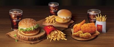 McDonald's (แมคโดนัลด์) แมกซ์ แวลู หลักสี่ (ไดร์ฟทรู)