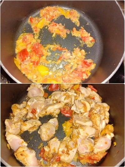 วิธีทำ แกงไก่ใส่ฟักทอง(ไม่เผ็ด)