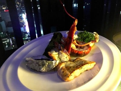Seafood Mixed Grill (Enjoy For 1)