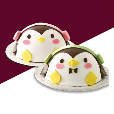 Cuddly Penguin Girl 1kg (Cookies&Cream)