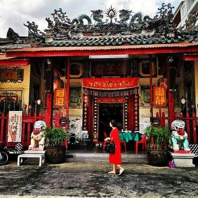 ศาลเจ้าพ่อฮ้อนหว่องกุง (ศาลเจ้าโรงเกือกตลาดน้อย)