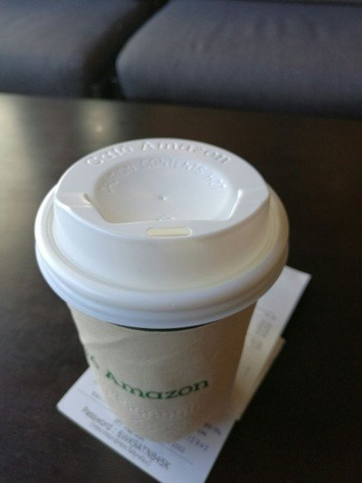 Cafe Amazon ปตท.หาดใหญ่ใน