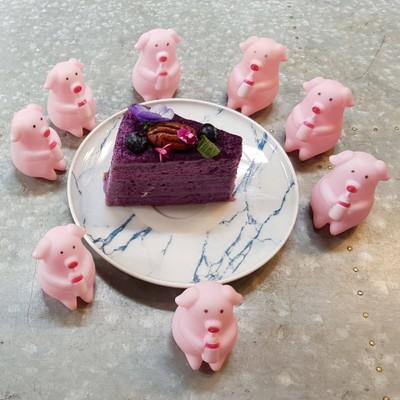 Purple Sweet Potato Cake