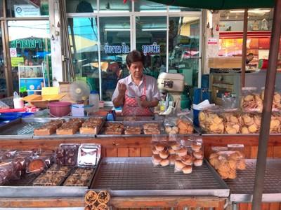 ร้านขนมปังไม่มีชื่อ ตลาดสดปทุมธานี