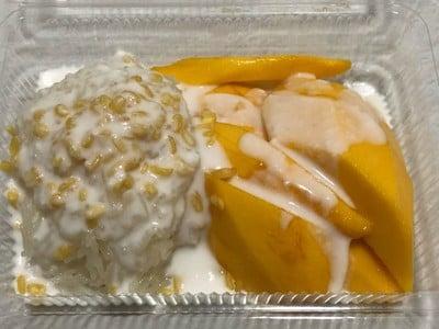 ข้าวเหนียวมะม่วงกะทิสดเฉลิมบุรี