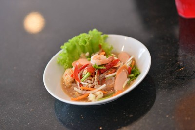 Seafood spicy salad
