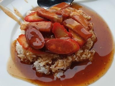ข้าวหมูแดงเจสูตรฮ่องกง