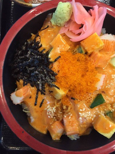 Salmon Tobiko Chirashi##1