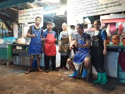 ร้านลาบอุบล ลาดพร้าวซอย 1 ตลาดสวนไผ่ By พ่อไพร แม่ปลา
