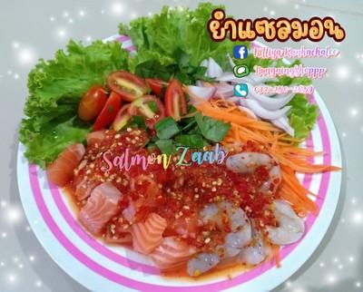 Salmon Zaab By Nungning