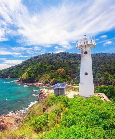 ประภาคารแห่งเกาะลันตา (Lighthouse Koh Lanta, waterfall Bay)
