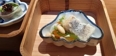 White Fish With Nanban Salad