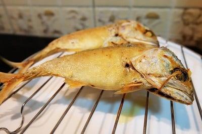 ทอดปลาทู หนังกรอบ เนื้อนุ่ม