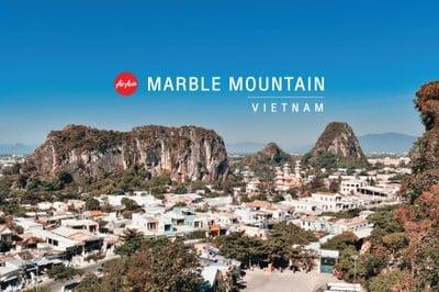 เที่ยวถ้ำบนภูเขาที่ Marble Mountain