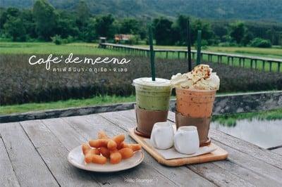 CAFE' DE MEENA : คาเฟ่ดีมีนา จ.เลย