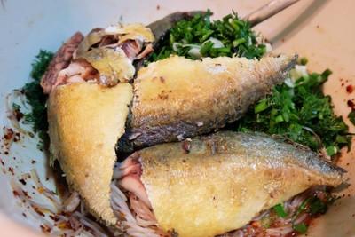 วิธีทำ ยำขนมจีนปลาทู