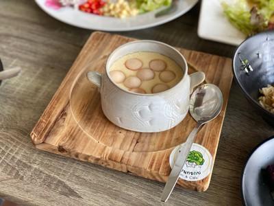 ไข่ตุ๋นมี้ Egg custard