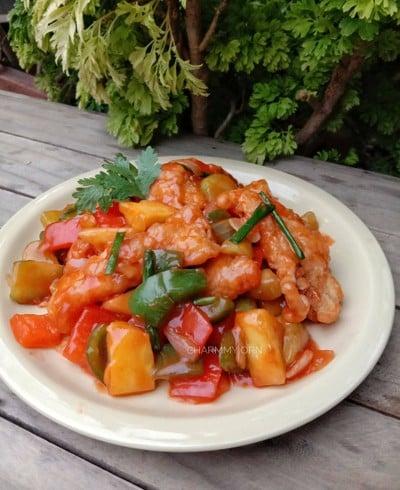 ผัดเปรี้ยวหวานปลาทับทิม