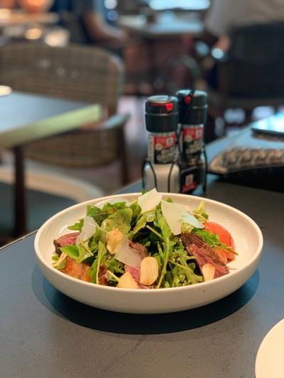 Hanger steak x Rocket salad##1