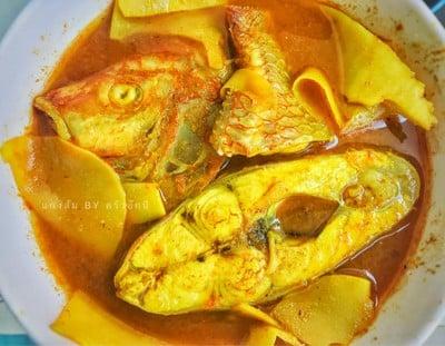 แกงส้มปลาหน่อไม้ดอง
