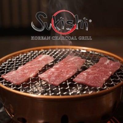 Sukishi Korean Charcoal Grill (ซูกิชิ โคเรียน ชาร์โคล กริลล์) แฟชั่นไอส์แลนด์ ชั้น B (ใต้ดิน)