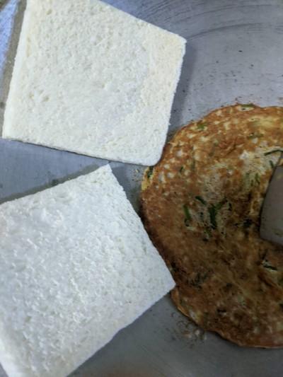 วิธีทำ ขนมปังยัดใส่ไข่เจียว