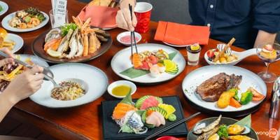 บุฟเฟ่ต์นานาชาติ อาทิตย์-พฤหัส Seafood และ Craving Station สำหรับสายเนื้อ