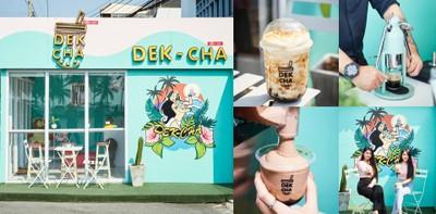 DEK-CHA ร้านชาไข่มุกบางแสนสุดคิวต์ เมนูหลากหลายรสชาติไม่ซ้ำใคร