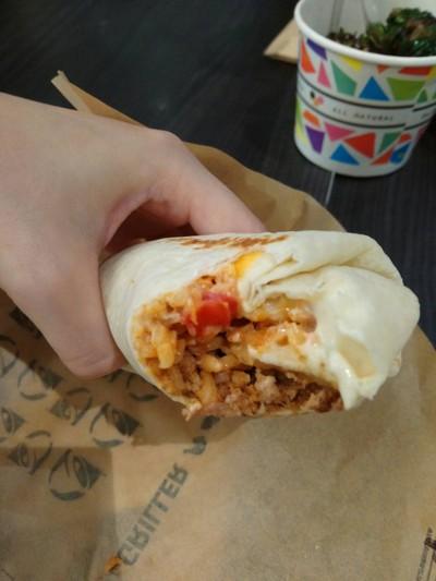 Cheesy Beef Burrito##1
