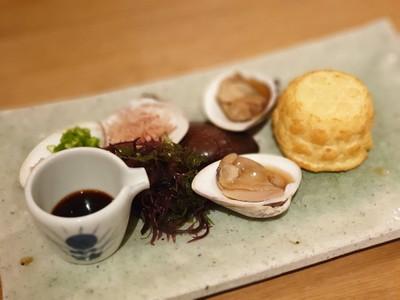 Hamaguri Zaru Tofu