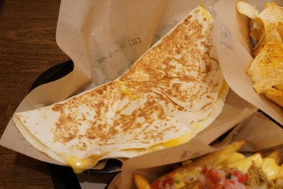 CHEESE QUESADILLA##1