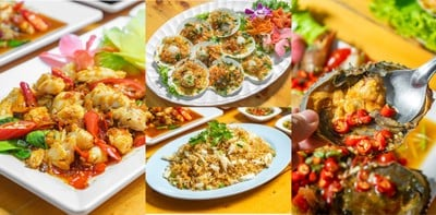 [รีวิว] ครัวไข่มุก ร้านอาหารทะเลชะอำ ซีฟู้ดสด ๆ ส่งตรงจากสะพานปลาชะอำ