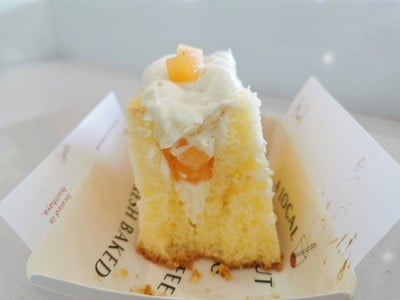 Vanilla Chiffon Coconut Cream Cantaloupe